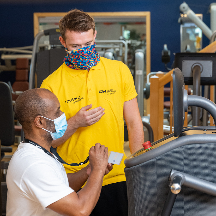 SafeACTiVE Studie - niedriges Covid-19 Risiko in Fitnessstudios