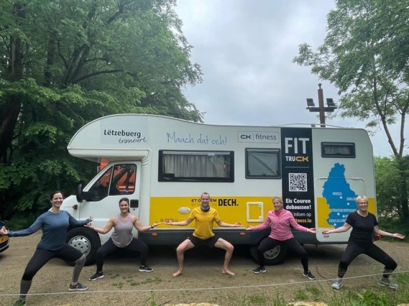 CK Fit Truck - sortez dans la nature et entraînez-vous en groupe !