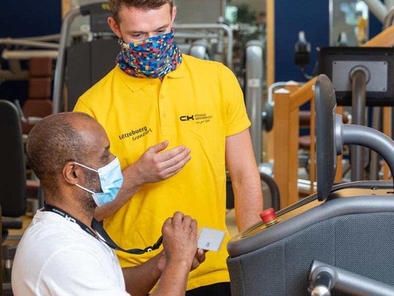 Etude SafeACTiVE - faible risque de Covid-19 dans les centres de fitness