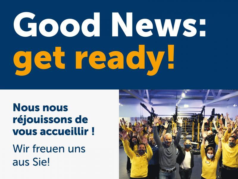 Bonnes nouvelles !