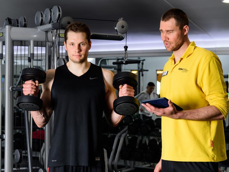 L'entraînement aux poids libres