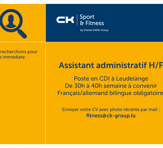 CK Fitness recrute !